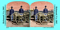 02492 - Richmond, VA; 1865; Confederate brass mountain howitzers [LC-DIG-cwpb-02492]
