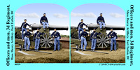 00559 - Officers and men, 3d Regiment,; Mass. Heavy Artillery, Fort Totten, DC [LC-DIG-cwpb-00559]