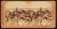 Galveston_Disaster,_Carting_away_dead_body_to_fire