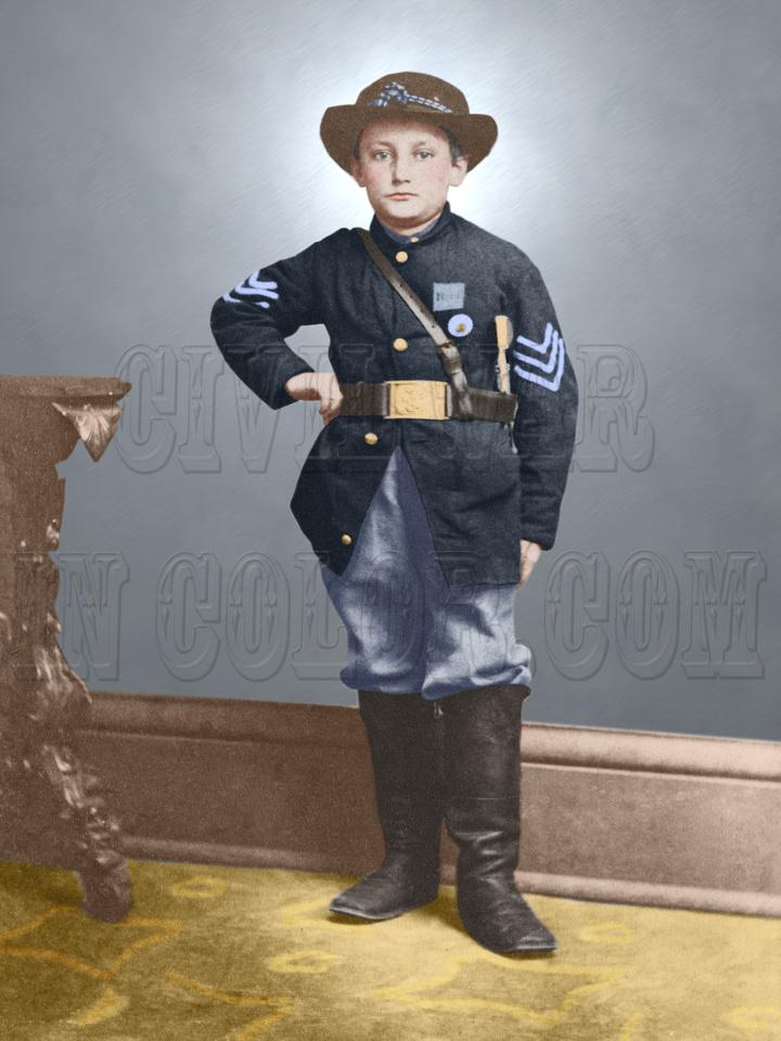 Sgt. Johnny Clem - 34511