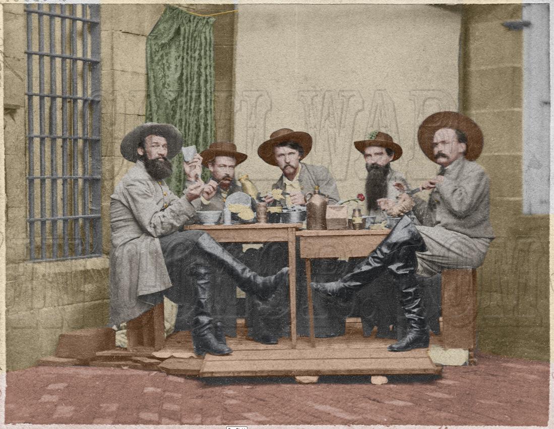 Morgans Raiders in Jail