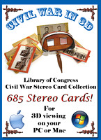 Library of Congress Civil War Stereo Cards DVD (PC/Mac)