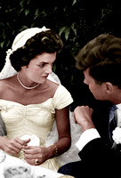 Kennedy Bouvier wedding September 12, 1953 - 40925