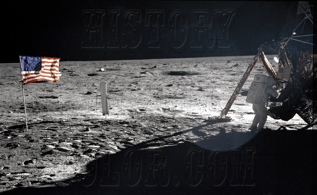 Neil Armstrong On The Moon - GPN-2000-001209