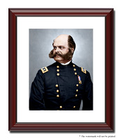 "Major Gen. Ambrose Burnside, ""Burn"" - 05369"