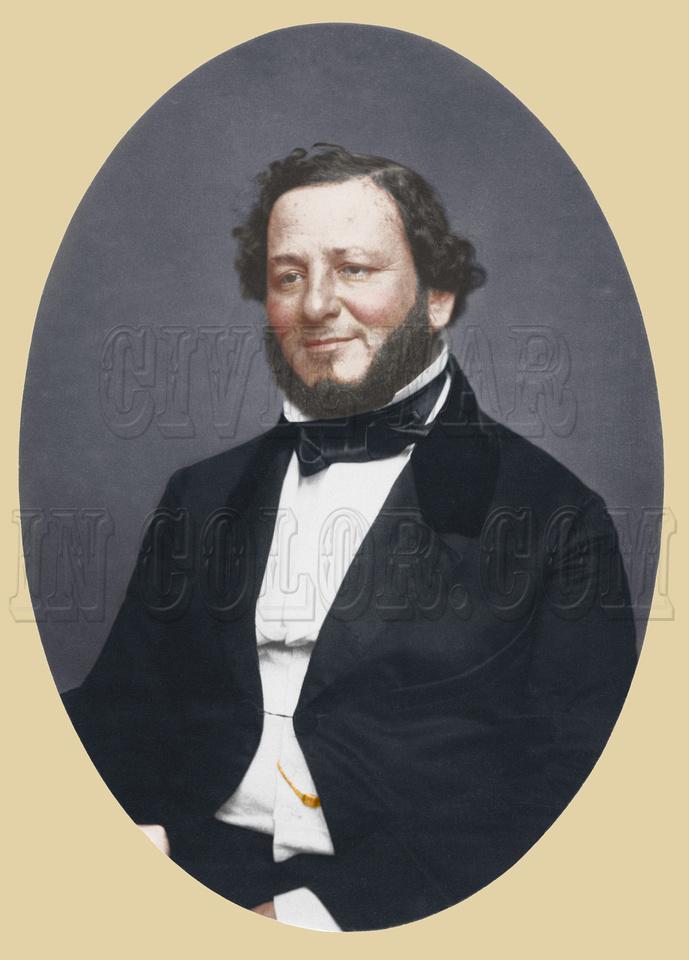 Judah Benjamin, Jefferson Davis's Secretary of War - 05642