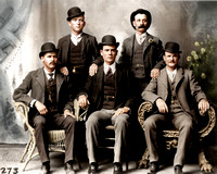 Butch Cassidy & the Wild Bunch (Brown Suits)