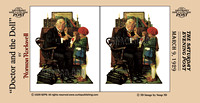 """Norman Rockwell"", Rockwell, 3D, ""Saturday Evening Post"", ""illustration"", ""American artist"", nostalgia"