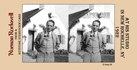 """Norman Rockwell"", Rockwell, 3D, ""Saturday Evening Post"", ""illustration"", ""American artist"", nostalgia, stereoview, Keystone, ""New Rochelle"", artist, studio"