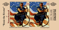 """Norman Rockwell"", Rockwell, 3D, ""Saturday Evening Post"", ""illustration"", ""American artist"", nostalgia, ""Rosie the Riveter"", Rosie, riveter, war, feminist, ""women's rights"", patriotism, America, Unite"
