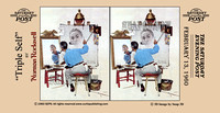 3D Norman Rockwell Stereo Cards
