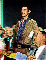 """Freedom of Speech"" by Norman Rockwell in 3D"