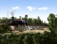 05731 - Neuse River Bridge, Wilmington & Goldsboro R.R., NC