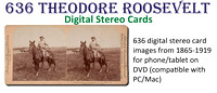 636 Theodore Roosevelt Digital Stereo Cards on DVD