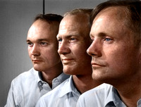 Apollo 11 Astronauts, Michael Collins, Buzz Aldrin, and Neil Armstrong