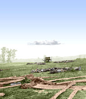 01108 - Where Sumner's Corps charged; Scene of terrific conflict. Sept. 1862; Antietam (LC-DIG-cwpb-01108)