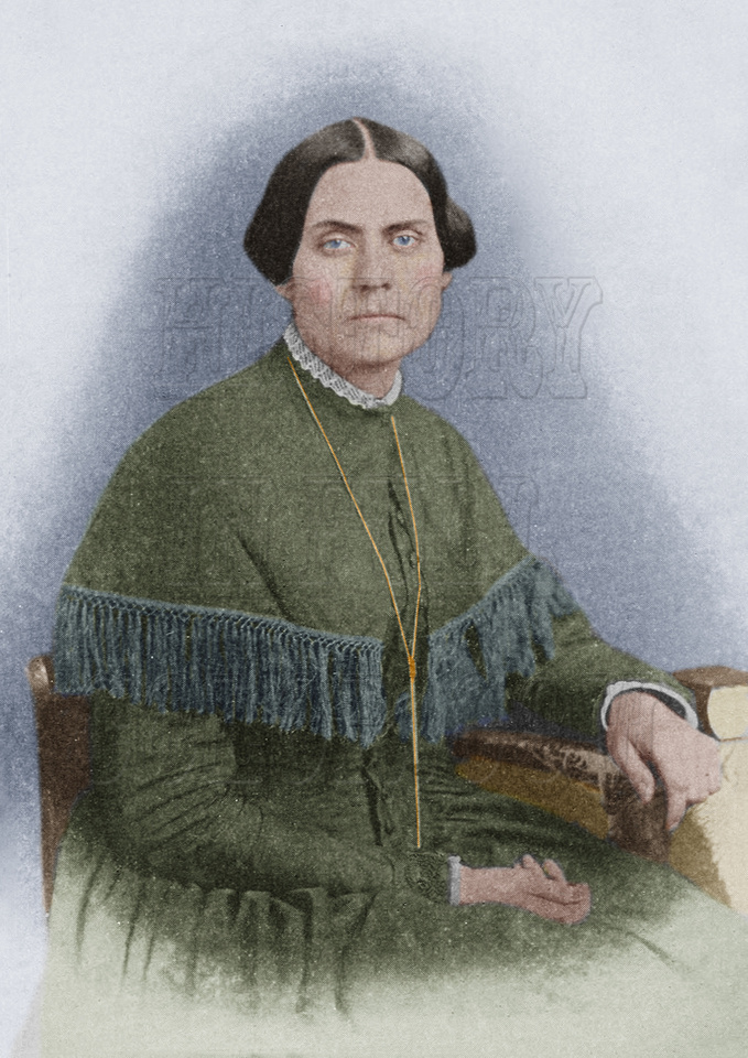 History In Full Color: Women &emdash; I10056 - Susan B. Anthony