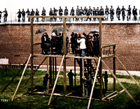 Washington, D.C. Adjusting the ropes for hanging the conspirators