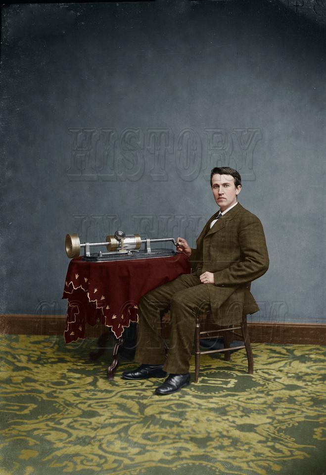 History In Full Color: People &emdash; Thomas Edison