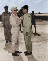 I10029 - General Spaatz and Colonel Tibbets