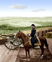 03628 - General Sherman, Atlanta, GA; Federal Fort #7, November 1864