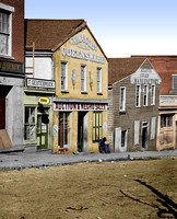 23350 - Auction & Negro Sales; Whitehall Street, Atlanta, GA, 1864 [LC-DIG-cwpb-03350]
