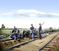 00260 - Resting after 2nd Bull Run; Manassas Junction, Va; August 1862 [LC-DIG-cwpb-00260]