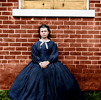 01915 - Young girl at Aiken house; Aiken's Landing, Virginia, 1864 [LC-DIG-cwpb-01916]