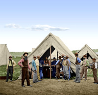 01731 - Sutler's Tent; 2d Division, 9th Corps, Petersburg, VA; 1864 [LC-DIG-cwpb-01731]