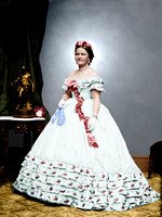 01023 - Mary Todd Lincoln; Inaugural Dress, March 4th 1865 [LC-DIG-cwpbh-01023]