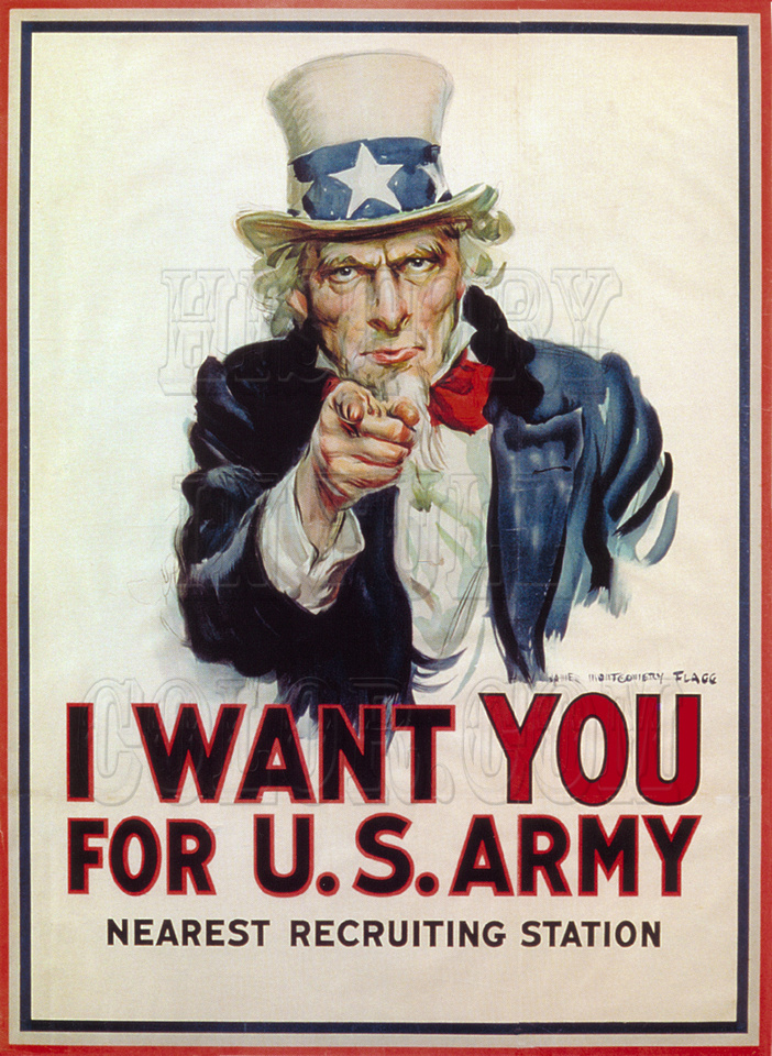 I Want You For U.S. Army - 3b52086