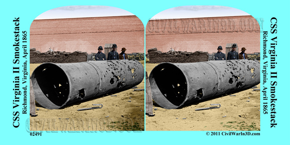History In Full Color | Richmond | 02491 - CSS Virginia II