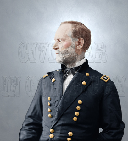 04445 - William Tecumseh Sherman; General of the Army of the United States