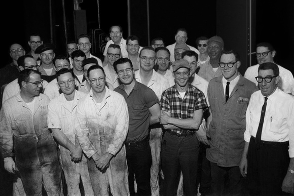 Ford Motor Plant Workers - Paschal BW