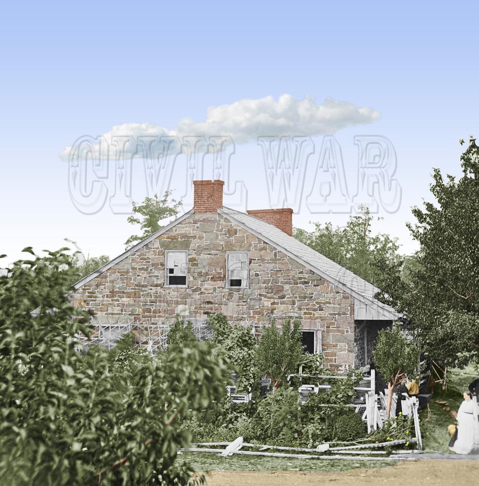 01652 - Headquarters of Robert E. Lee; Gettysburg, PA July 1863 (LC-DIG-cwpb-01652)