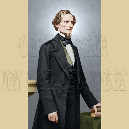 23852 - President Jefferson Davis; Confederate States of America [LC-DIG-ppmsca-23852]