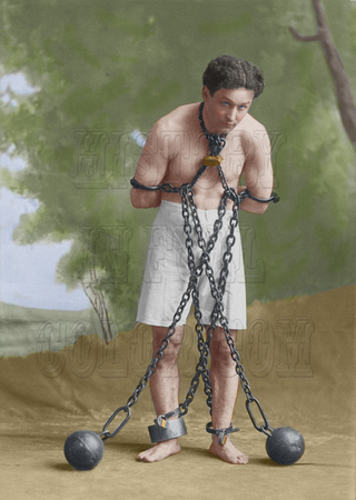 Houdini in chains