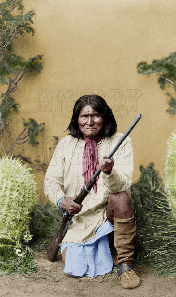 History In Full Color: People &emdash; Geronimo - 3a37017