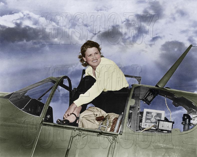 History In Full Color: Women &emdash; I10045 - Jacqueline Cochran
