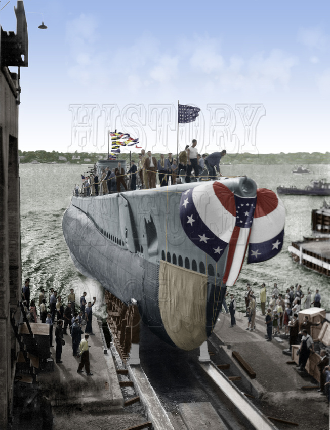 History In Full Color: Military &emdash; 0833400 - USS Cabezon