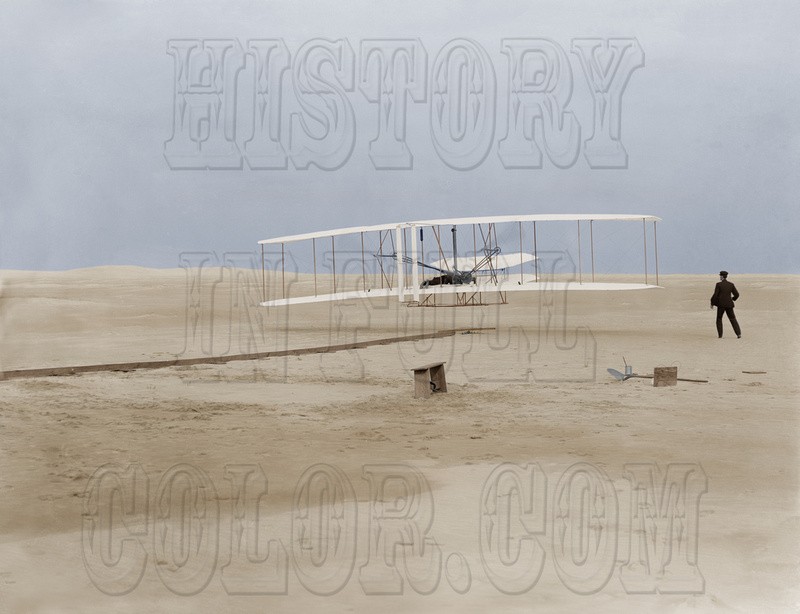 History In Full Color: People &emdash; The Wright Brothers