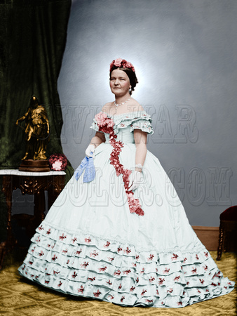 Mary Todd Lincoln Dress Size