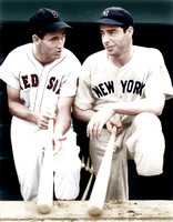 Ted Williams and Joe Dimagio - I10090