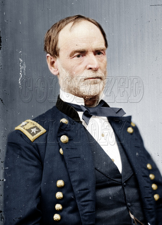 William tecumseh sherman in color