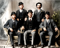 Butch Cassidy & the Wild Bunch (Blue-grey Suits)