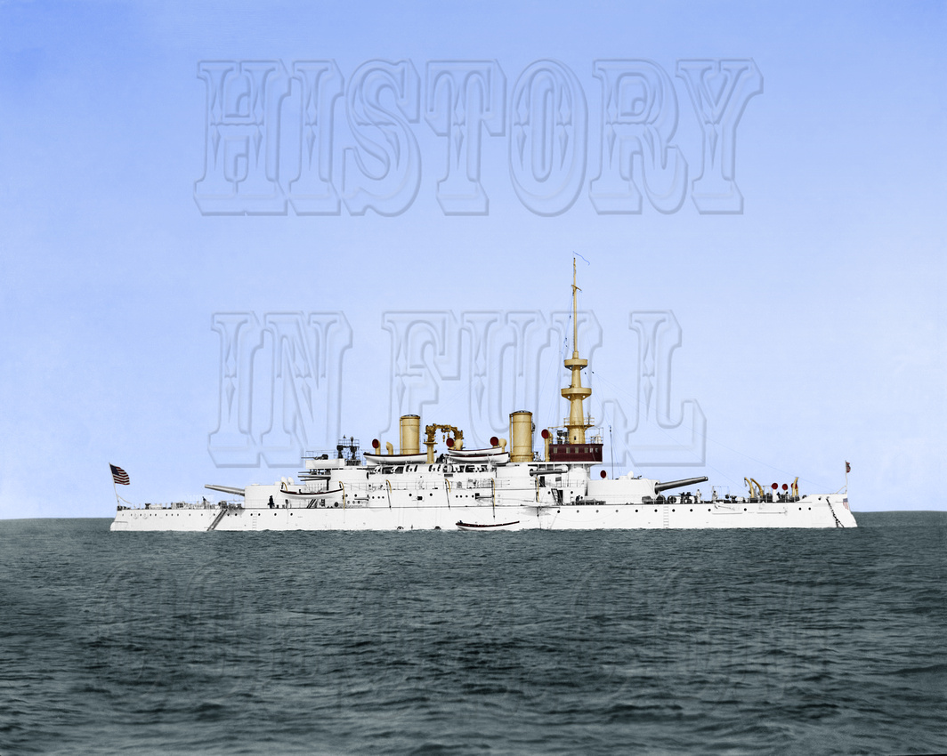 History In Full Color: Military &emdash; USS Oregon 1898