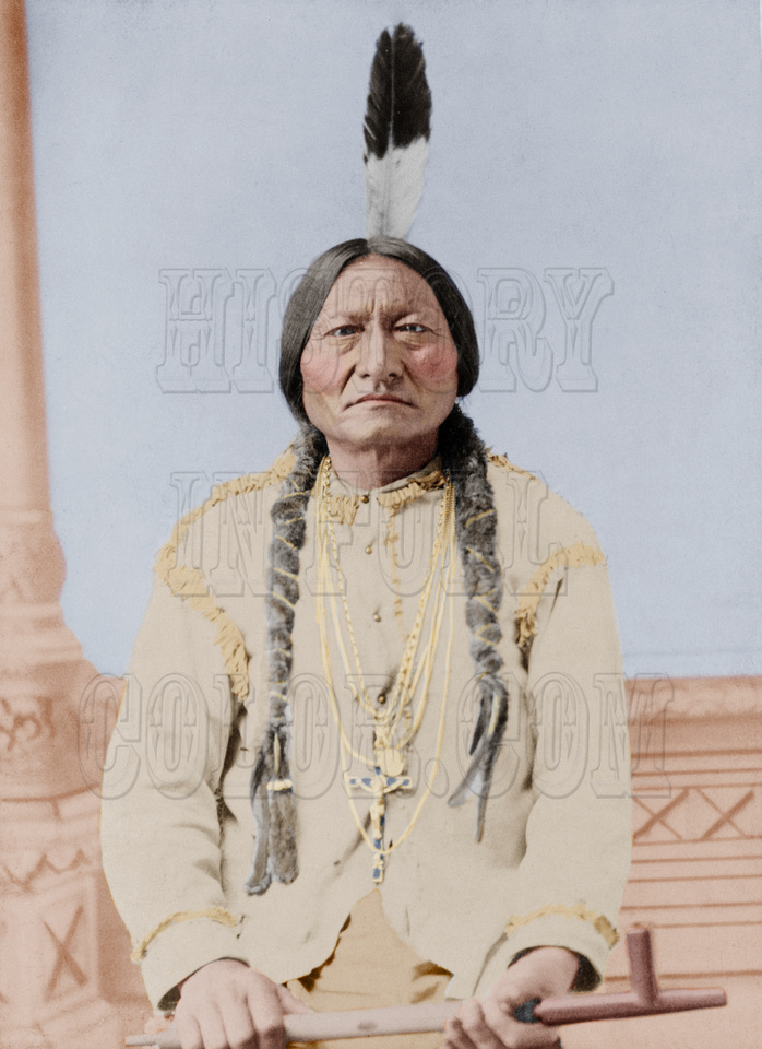 History In Full Color: People &emdash; Sitting Bull - 3c11147
