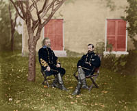 Generals Custer and Pleasonton - 34188